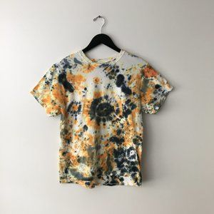 Hanes Tie Dye Tee Shirt Multi Color XL Kids